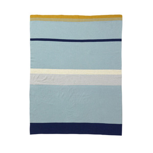 Little Stripy Blanket Blue