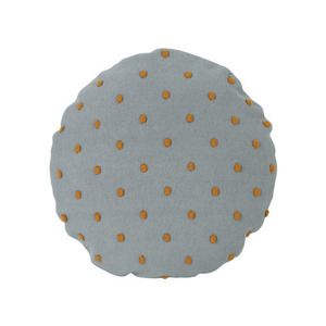 Popcorn Round Cushion Dusty Mint