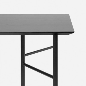 Mingle Table 160cm Black Veneer