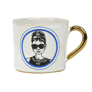 Alice Medium Coffee Cup Audrey Hepburn