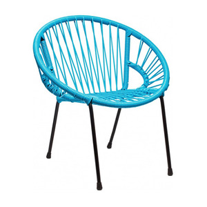 Tica Kid Armchair Turquoise