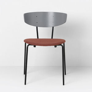 Herman Chair Grey/Rust