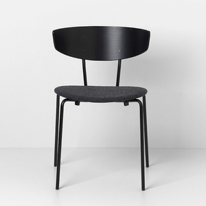 Herman Chair Black/Dark Grey