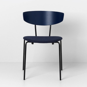 Herman Chair Dark Blue/Dark Blue [주문 후 3개월 소요]