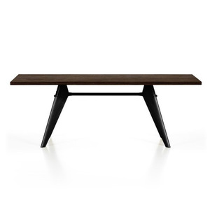 EM Table Solid Smoked Oak Top