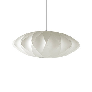Nelson Saucer Crisscross Bubble Pendant Medium