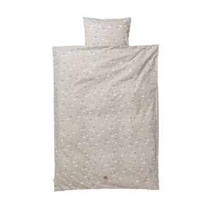Swan Bedding Grey Junior
