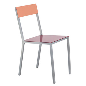 Alu Chair Burgundy/Pink