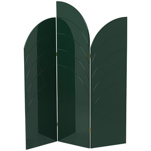 Unfold Room Divider Dark Green [주문 후 3개월 소요]