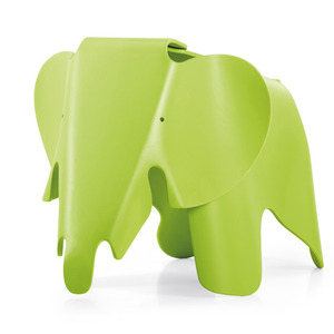 Eames Elephant Dark Lime
