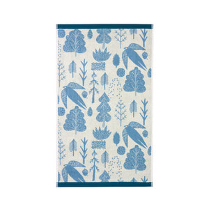 Bird & Tree Hand Towel Cream