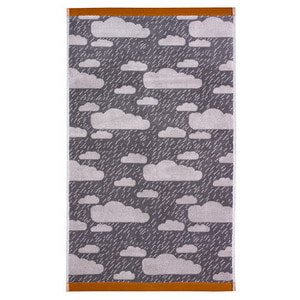 Rainy Day Bath Towel Grey