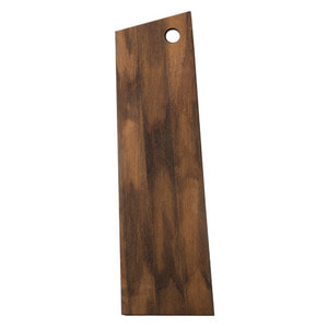 Asymmetric Cutting Board Smoked Medium
