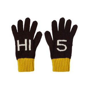 Kids Hi 5 Gloves Ebony (30% sale)