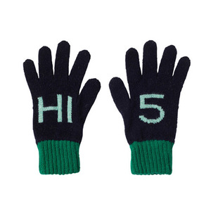 Kids Hi 5 Gloves Navy (30% sale)