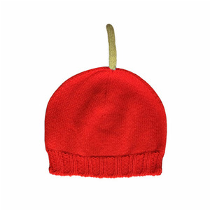 Little Red Cashmere Baby Hat (30% sale)