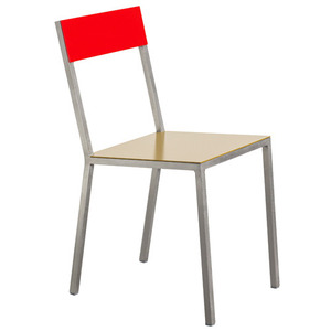 Alu Chair Curry/Red