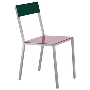 Alu Chair Burgundy/Candy Green
