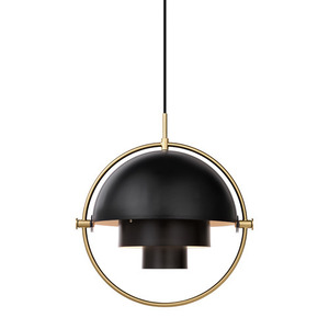 Multi-Lite Pendant Brass base/Charcoal Black  [재고문의]