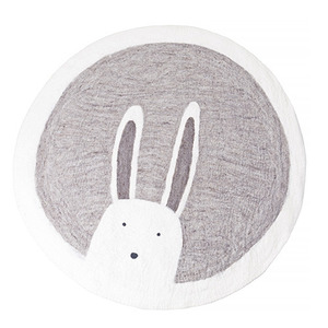 Pasu Rug Bunny Light Stone