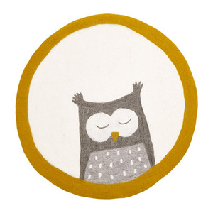 Pasu Rug Owl Natural