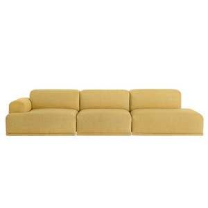 Connect Modular Sofa 3-seat Open End Configuration