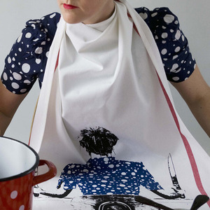 Grandma's tea towel Blueberry - 30% sale
