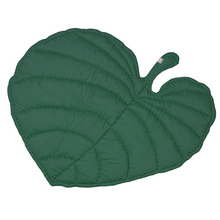 Leaf Blanket Emerald Green
