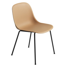 Fiber Side Chair Tube Base Ochre/Black