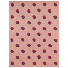 Double Dot Blanket Rose