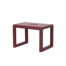 Little Architect Stool Bordeaux