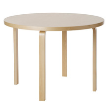 Aalto Table 90A Birch/Birch [주문후 5개월 소요]