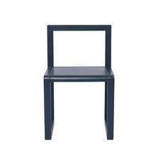 Little Architect Chair Dark Blue