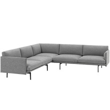 Outline Corner Sofa Hallingdal 166