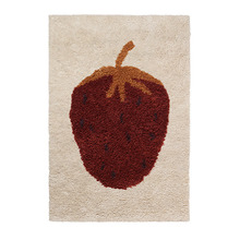 Fruiticana Tufted Strawberry Rug Small [주문 후 3개월 소요]