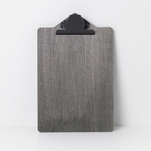 Clipboard A4 Stained Black