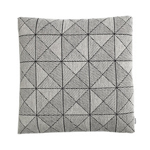 Tile Cushion Black/White