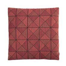 Tile Cushion Tangerine