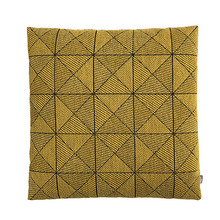 Tile Cushion Yellow