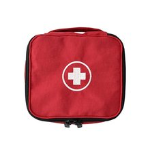 First Aid Kit Red Mini Storage Bag