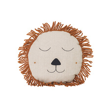 Safari Cushion Lion Natural