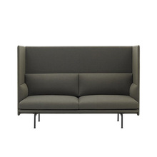 Outline Highback Sofa 2-Seater