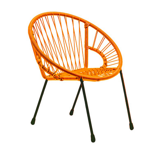 Tica Kid Armchair Orange