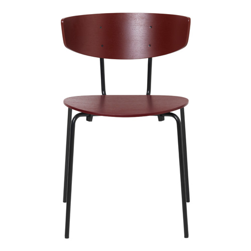 Herman Chair Red Brown