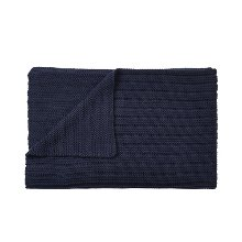 Ample Throw Midnight Blue