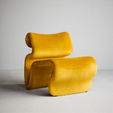 Etcetera Easy Chair Canary Yellow