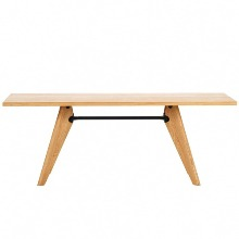 Table Solvay Natural Solid Oak 240cm