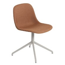 Fiber Side Chair Swivel Base W.O Return Remix 452/Grey