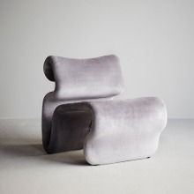 Etcetera Easy Chair Zink Grey