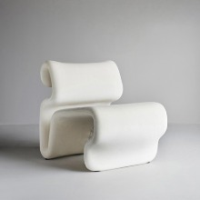 Etcetera Easy Chair Creme White